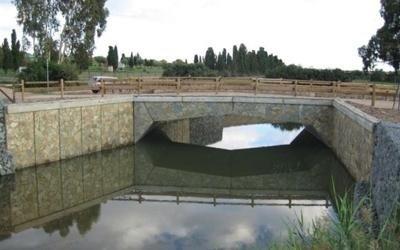 Ponte su acqua a Pula