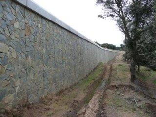 Muro di sostegno di Tipo N