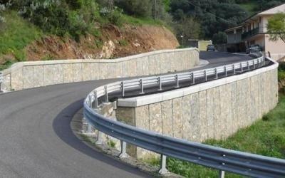 Muro sostegno terra a Illorai