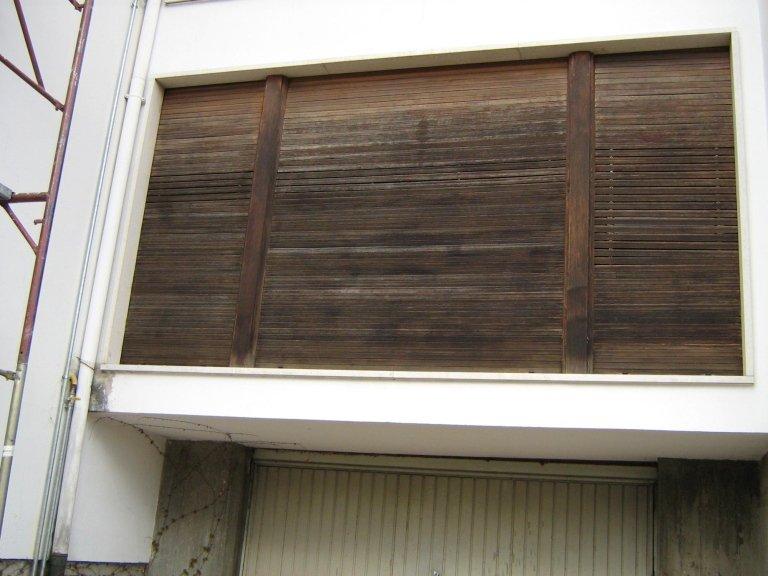 restauro legno prima
