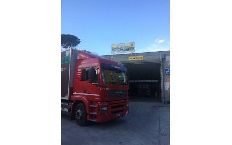 Riparazioni meccaniche camion