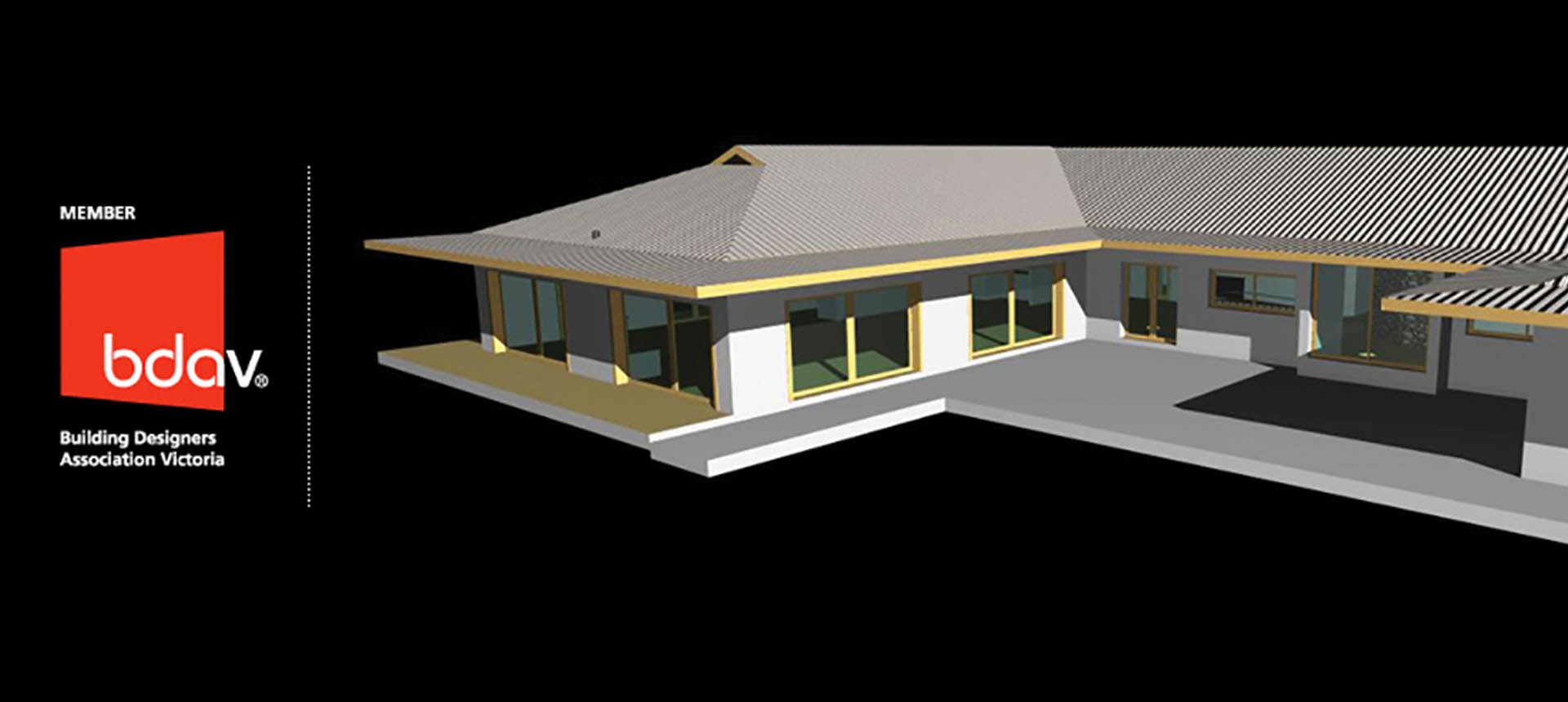 3D image of a house
