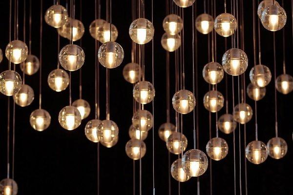 Lampadari E Plafoniere Tiffany : Lampade in vetro e cristallo cermenate co lampexport