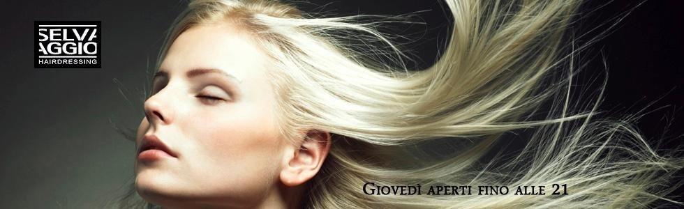 Taglio capelli per donna