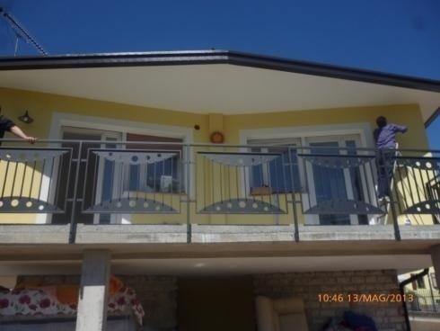 Balconi acciaio zincato e verniciato Canale 2013