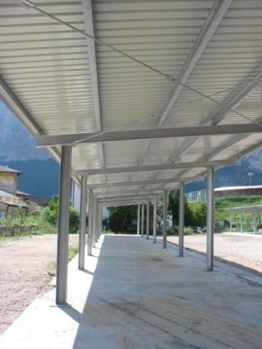 Tettoie comune di Trento Roncafort anno 2006