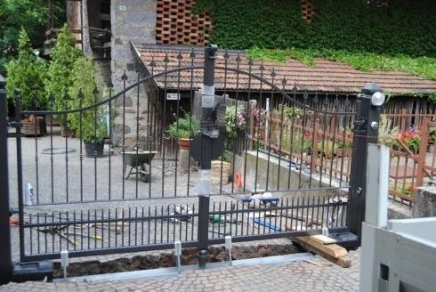 Cancello motorizzato Merano