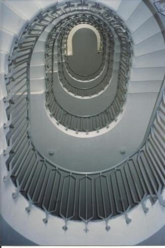 Parapetto interno scala SEAC Trento