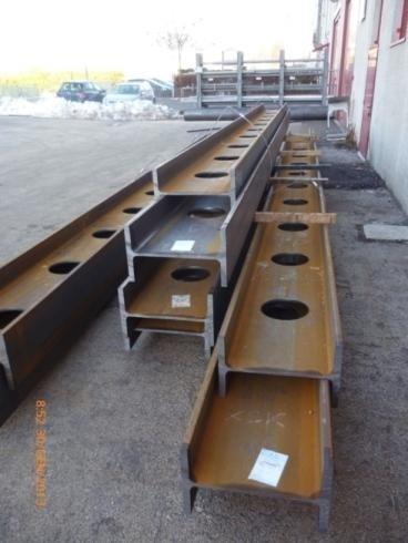 Travi HEB 500 -Cantiere Mubre Bassano del Grappa 01/2013