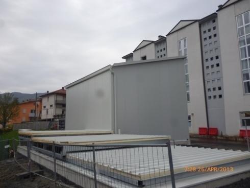 Struttura edificio centrale termica-BERCETO PARMA 04/2013