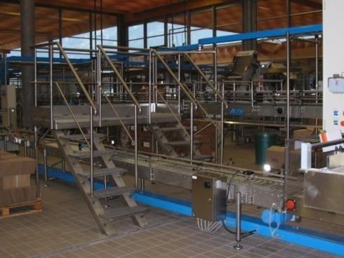 Scale in acciaio Inox Cantna Rotari Mezzocorona TN