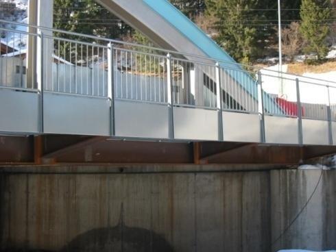 Parapetto Ponte Predazzo 2009