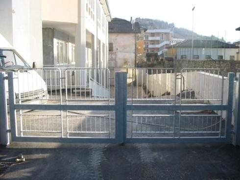 Cancello 2 ante zincato Casa di Riposo S Spirito Pergine V