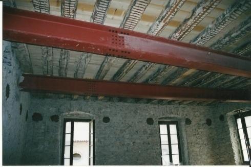Travi risanamento edificio Pergine V
