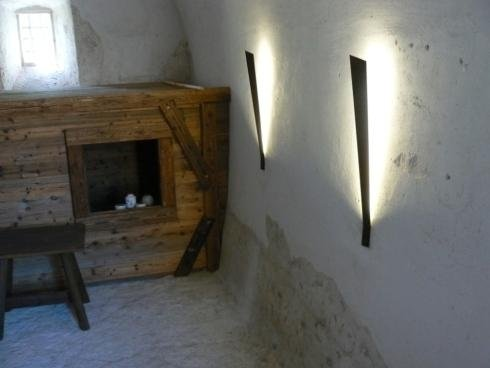Lampade Castel Beseno 2012