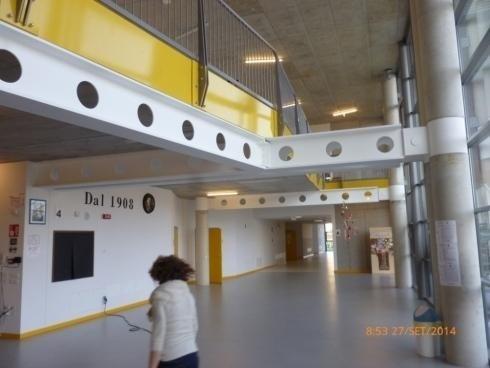 TRAVI HEB 500 Sostegno Solaio Scuola Bellavitis Bassano del Grappa