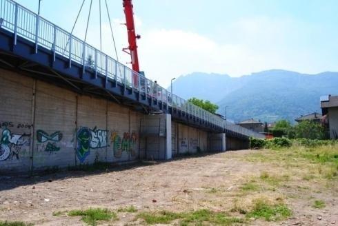 Passerella Pedonale a Scavalco FS Pergine V 2010
