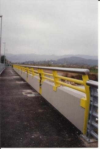 Parapetto Ponte fiume Livenza Schio VI