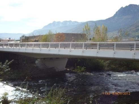 Parapetti Ponte sul torrente Fersina Pergine V