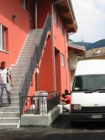 Parapetti zincati e vernciati Casa Riposo S anna Pergine 2006