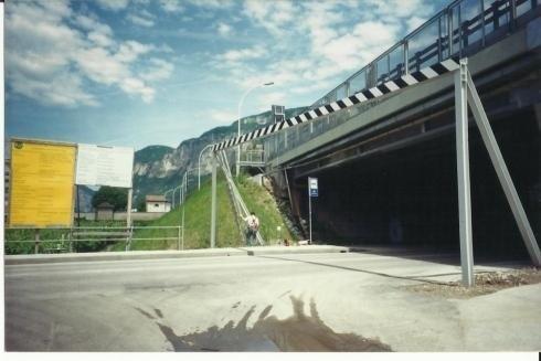 Travi Protezione Ponte A22 S. Michele all