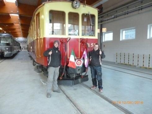 Inaugurazione Deposito  Treni Croviana 2014