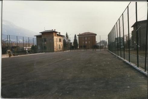 Recinzioni rete campi sportivi Trento anno 1987