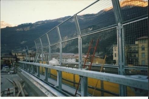 Barriera Ponte Nomi A22 anno 1997