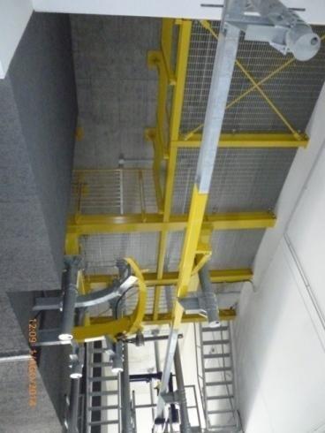 struttura in travi e tubolari