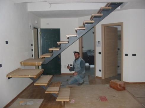 Scale interne trento pergine carpenteria lelli - Scale d interni ...