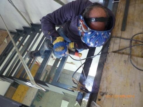 scala acciaio Vetro Albiano 2012