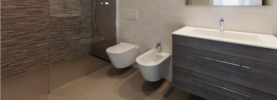 Arredo bagno soluzioni tradizionali e contemporanee a - Ingombro sanitari bagno ...