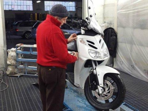 riparazione scooter