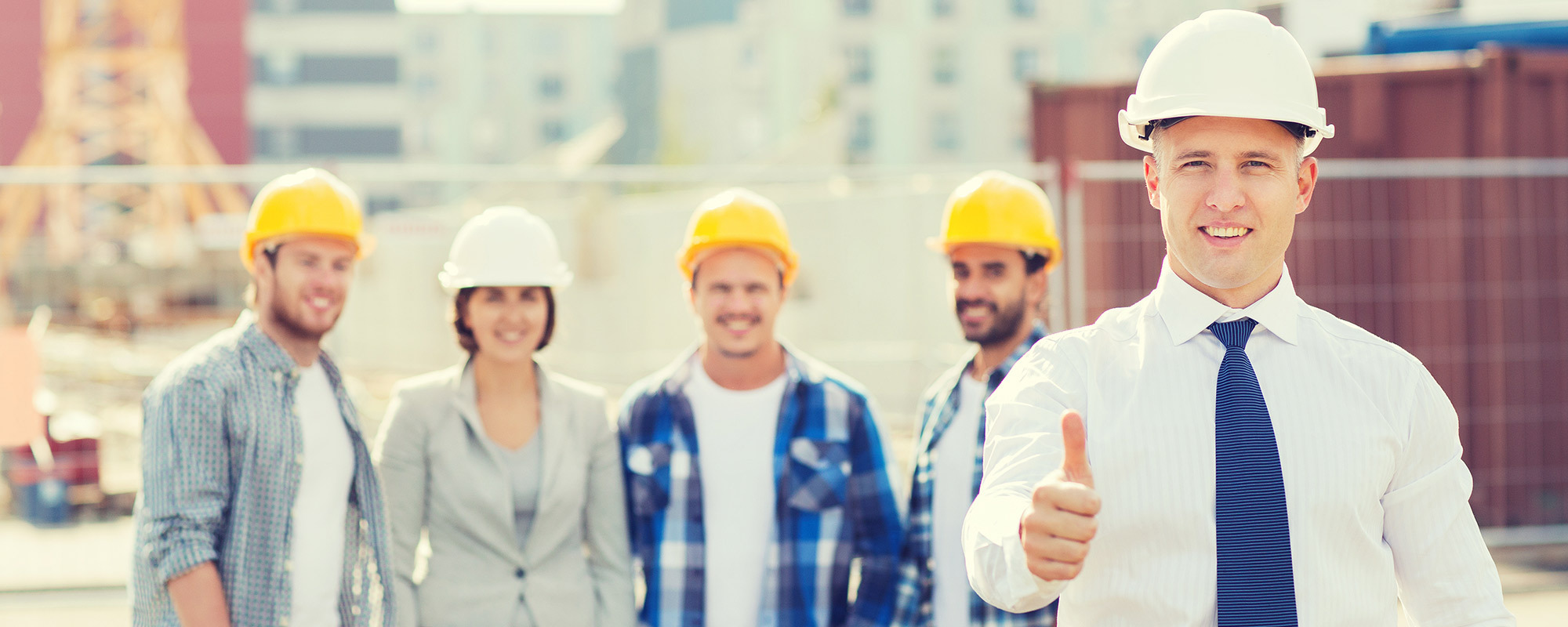Professional experts building approval team