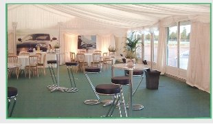 Marquee Accessories - Leominster | CW Garden Marquees Ltd