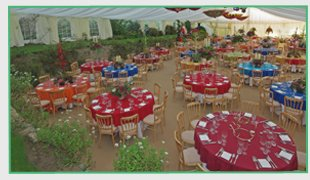 Lighting - Herefordshire - CW Garden Marquees Ltd - Weddings and parties