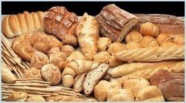 pane integrale, pane di soia, pane bianco