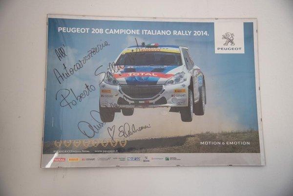 un'immagine di una Peugeot 208 da Rally