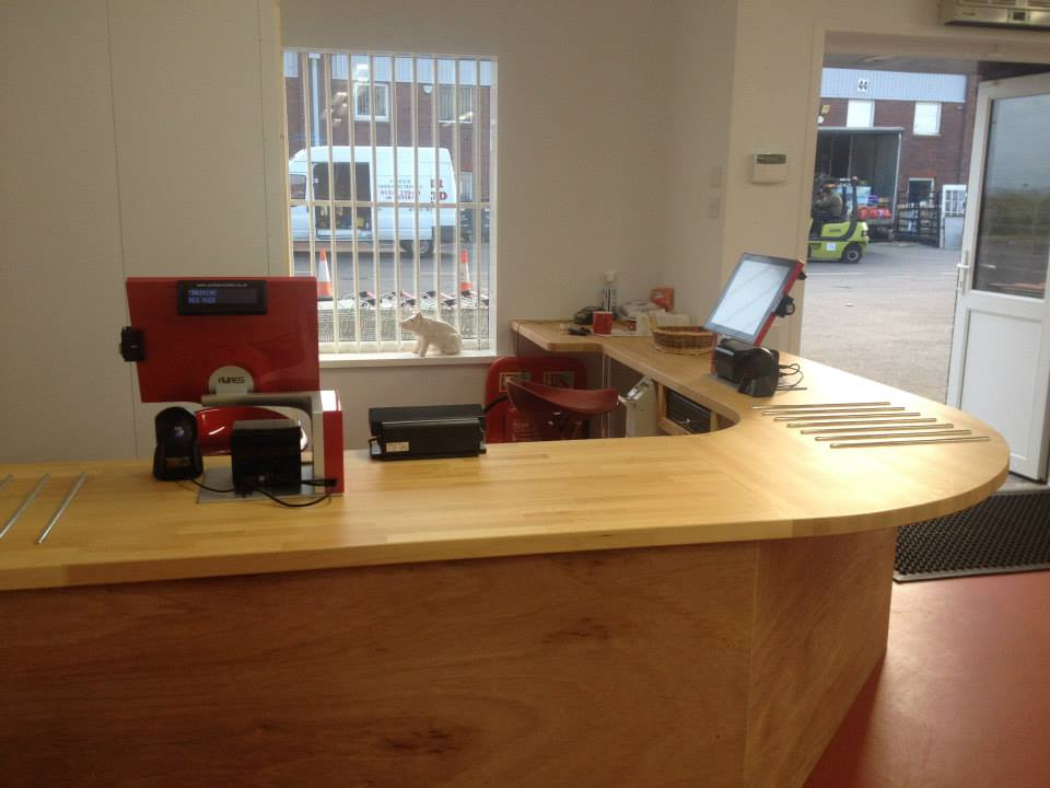 EPOS system on a reception