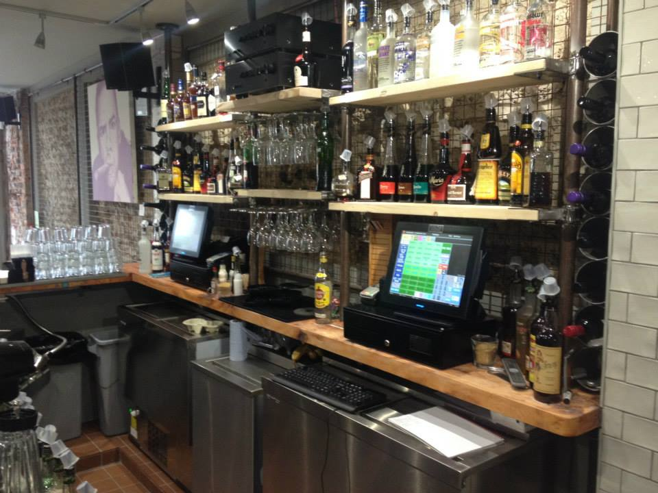 two EPOS systems in a pub