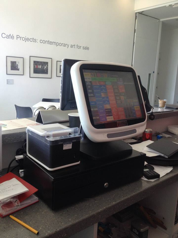 EPOS system with a receipt printer