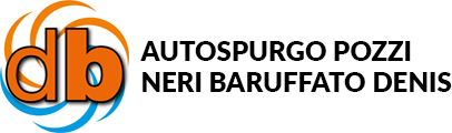 AUTOSPURGO POZZI NERI BARUFFATO DENIS - LOGO