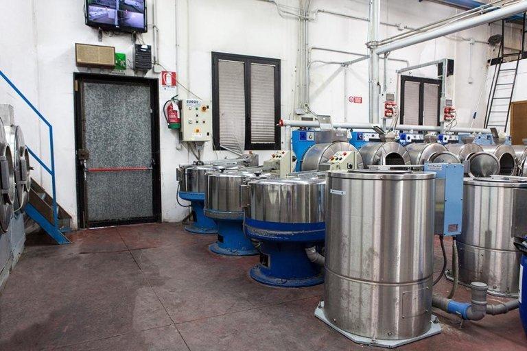 lavanderia industriale lavaggio campionario