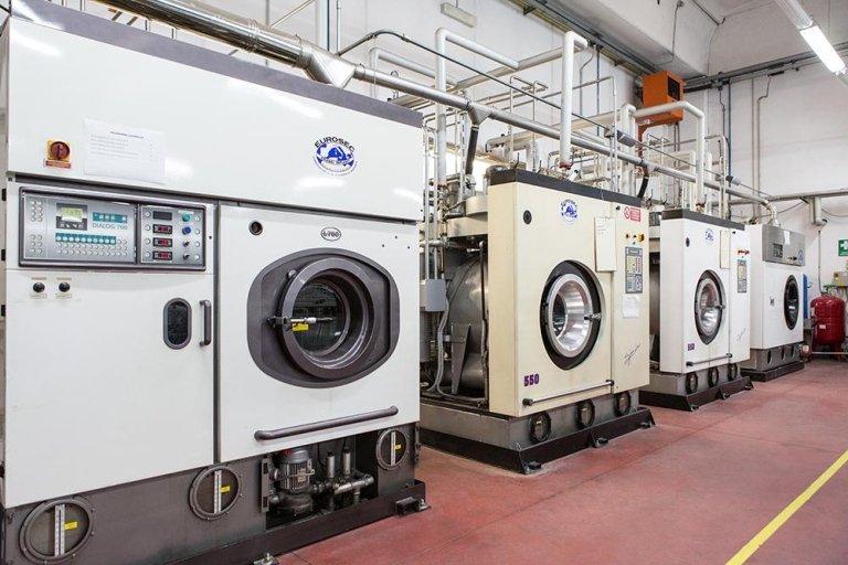 lavanderia industriale Macchinari lavaggio a secco