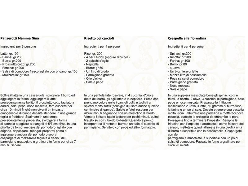 ricette tipiche toscane