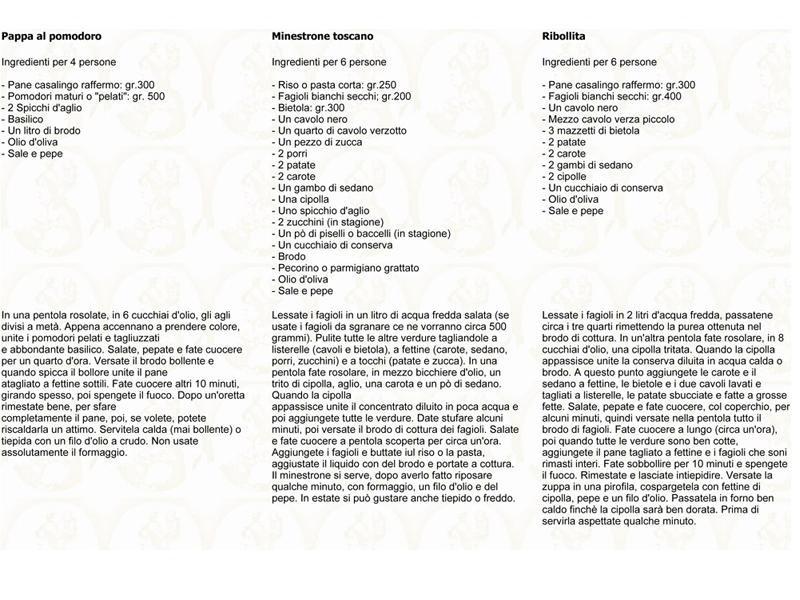 ricette minestre