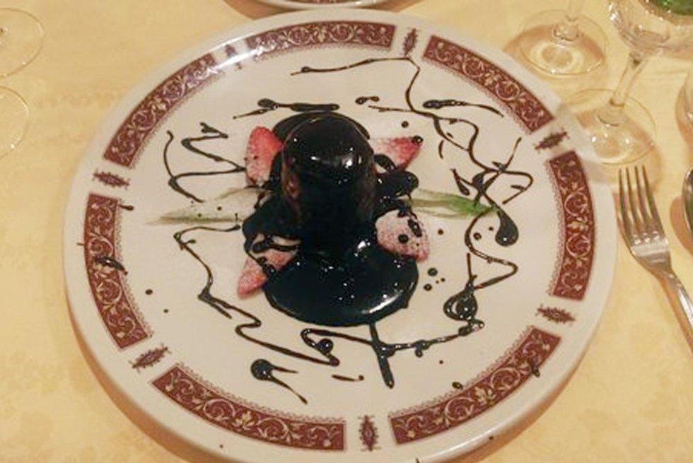 Semifreddo con cioccolato