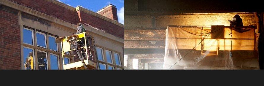 Abrasive Grit Blasting - Manchester, Newcastle - Intertank Services Ltd
