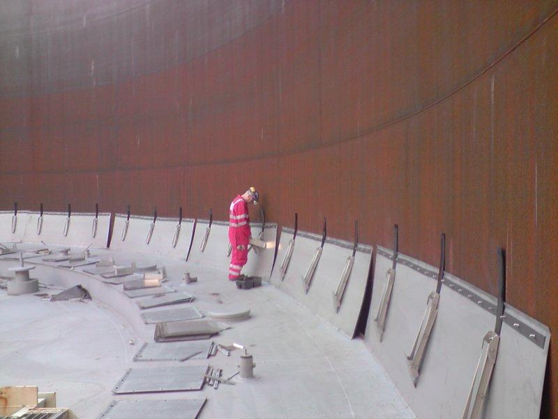 Construction - Newcastle, South Sheilds, Manchester - Intertank Services Ltd