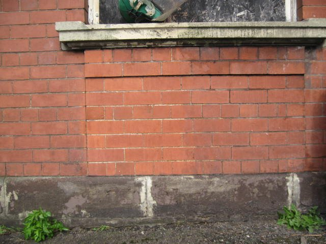 Brick after cleaning - South Sheilds, Newcastle - Intertank Services Ltd